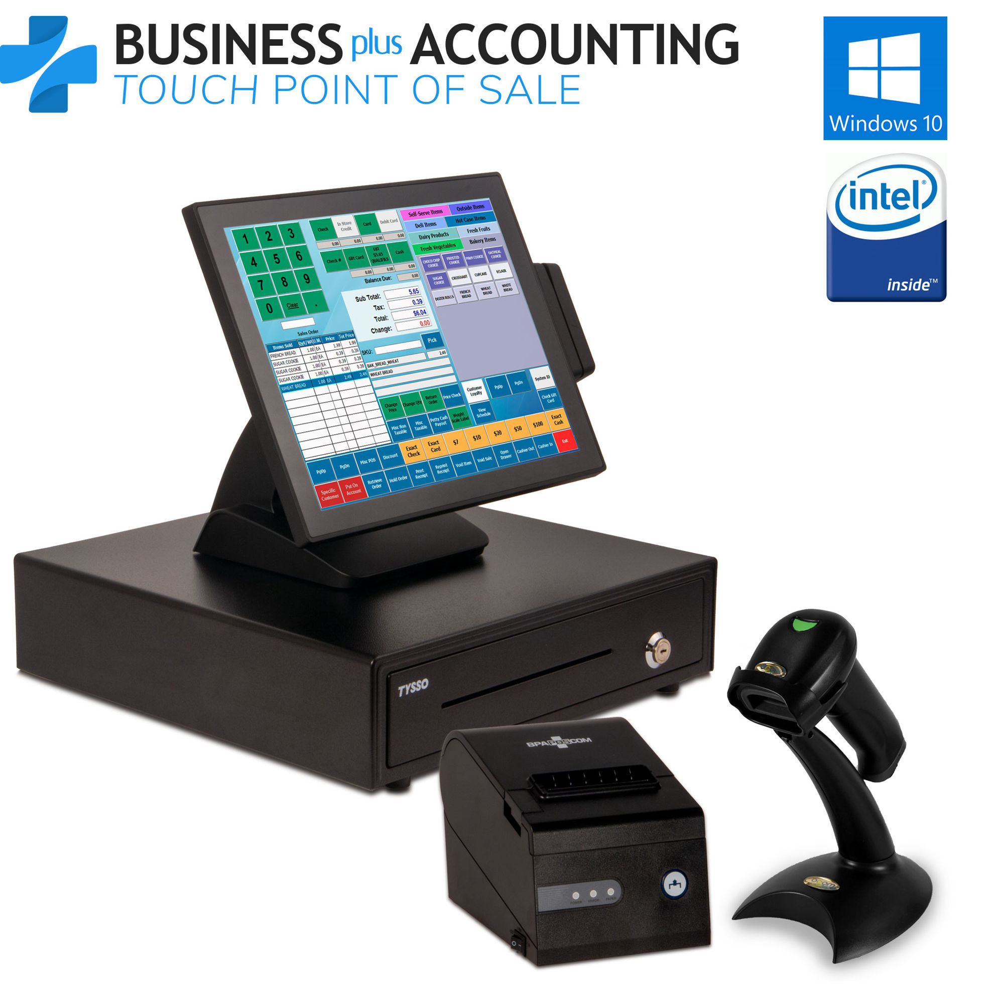 BPA Elite II Touch POS System