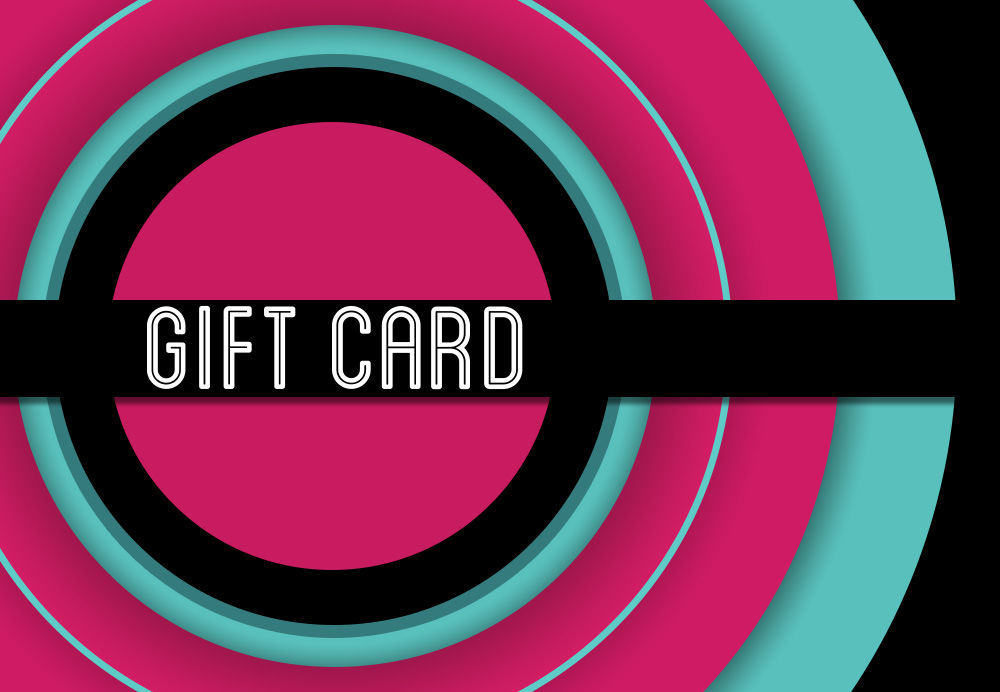 GCI-18 Gift Card Holder (Pink & Blue Circle)