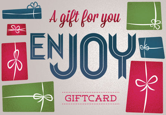 GCI-19 Gift Card Holder (Gray With Presents)
