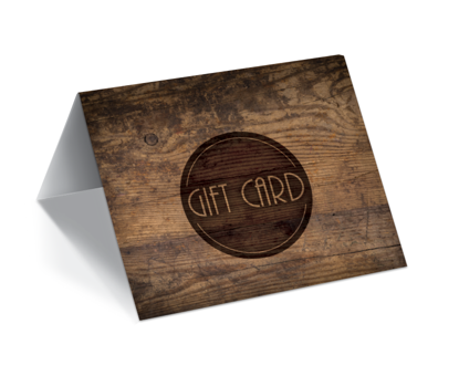 GCI-26 Gift Card Holder (Wood Grain)