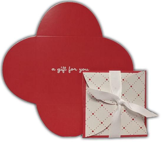 GCI-33 Gift Card Holder (Red Petal)