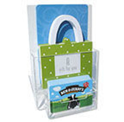 Gift Card Display 1 Card pocket, 1 Holder pocket
